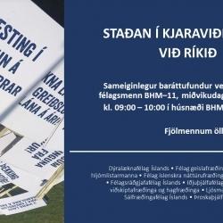Staðan í kjaraviðræðum við ríkið