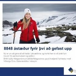 8848 ástæður til þess að gefast upp